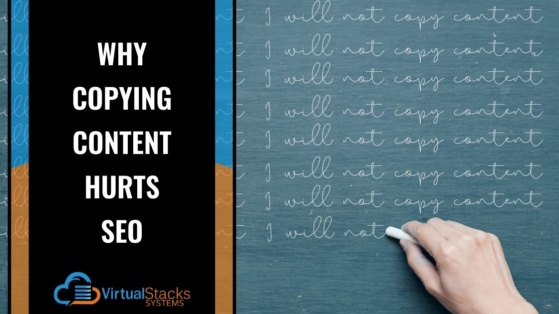Copying Content Hurts SEO